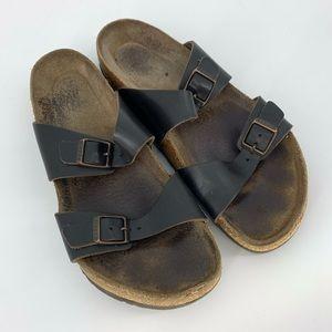 Birkenstock Classic Strap Cork Summer Sandals Sz 9